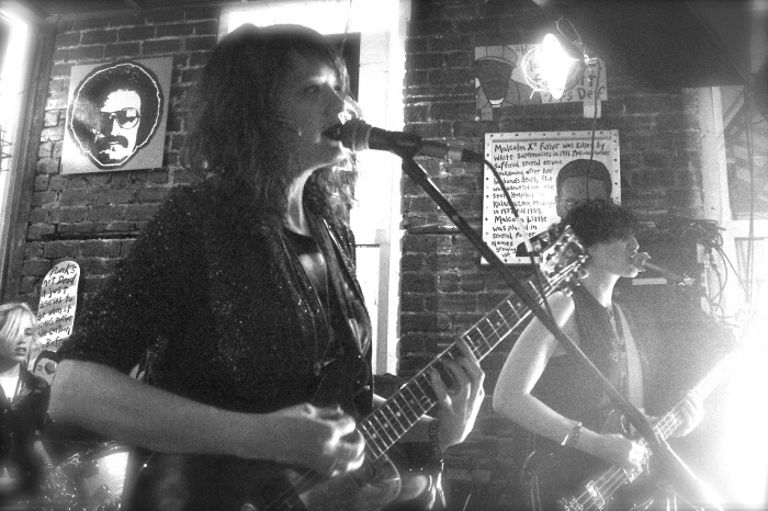 Ex Hex plays HangFire, Photo: Hilary Langford