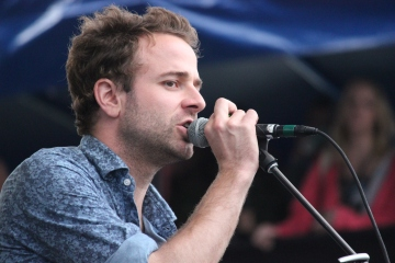 Taylor Goldsmith of Dawes, Photo by Hilary Langford