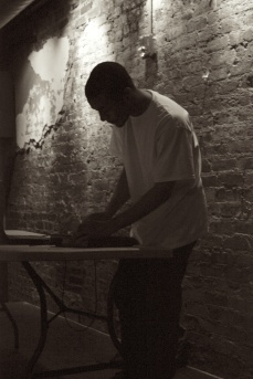 DJ set @ Neptunes, Photo by Jennifer Bridges