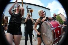 What Cheer Brigade @ Girls Rock NC, Photo by Jennifer Bridges