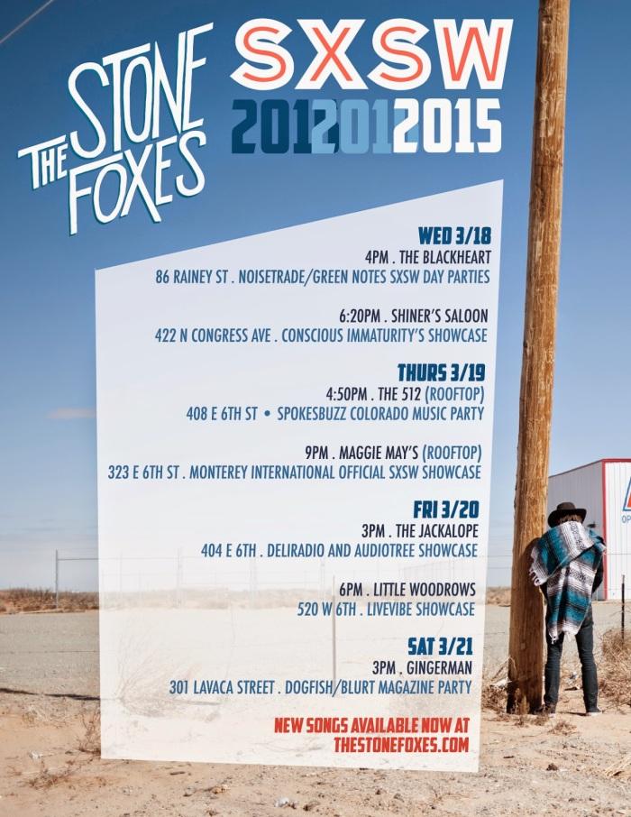 Stone Foxes SXSW